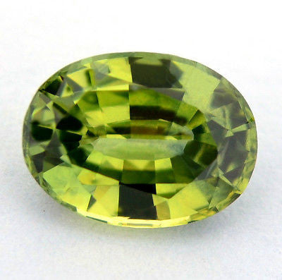 Certified Natural Unheated Oval One ct Spring Green Sapphire Vvs Clarity Untreated Madagascar Gem - sapphirebazaar - 1