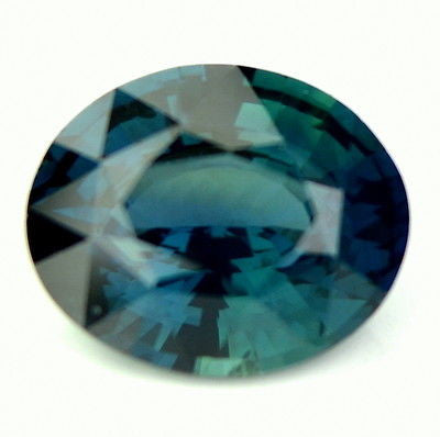 Certified Natural 0.99ct Greenish Blue Oval Cut Sapphire vvs Clarity Madagascar Gemstone - sapphirebazaar - 1