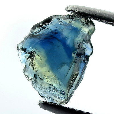 Certified Natural Unheated 2.01ct Facet Quality Rough Blue Sapphire vvs Clarity Madagascar Gemstone - sapphirebazaar - 1