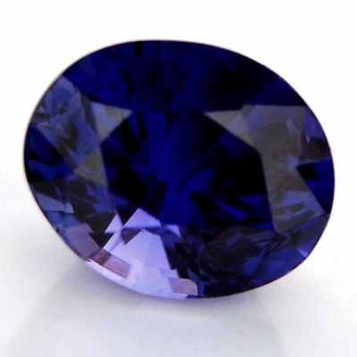 Certified 1.13ct  Natural Ceylon Sapphire Purplish Blue Color vvs Clarity Sri Lanka Gem - sapphirebazaar - 1