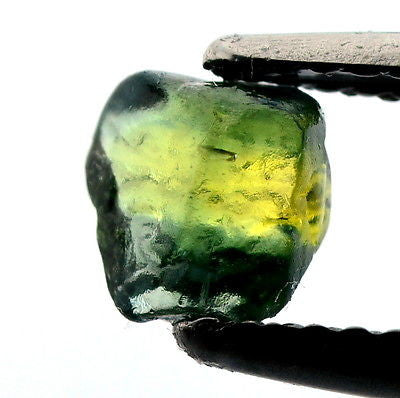 Certified Facet Rough Yellow Green Sapphire Madagascar 0.93ct Unheated Untreated Gem vs Clarity - sapphirebazaar - 1