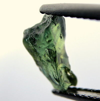 Certified Natural Unheated 1.79ct Facet Quality Rough Sapphire Bluish Green vvs Clarity Madagascar - sapphirebazaar - 1