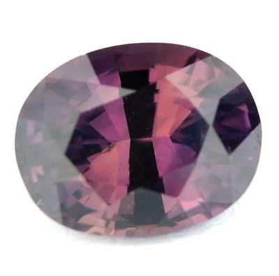 Certified 1ct natural unheated untreated pinkish brown Sapphire Madagascar - sapphirebazaar - 1