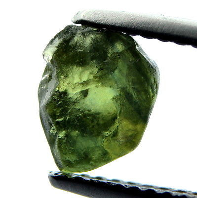 Certified Natural Unheated 1.84ct Facet Quality Rough Sapphire Green Si Clarity - sapphirebazaar - 1