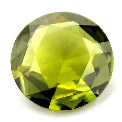 Certified Natural 5.2mm Unheated Green Sapphire 0.54ct Untreated Round Rose Cut vvs Clarity Madagascar Gem - sapphirebazaar - 1