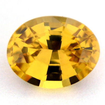 Certified Natural Unheated 0.83ct Oval Yellow Sapphire Vvs Clarity Untreated Madagascar Gem - sapphirebazaar - 1