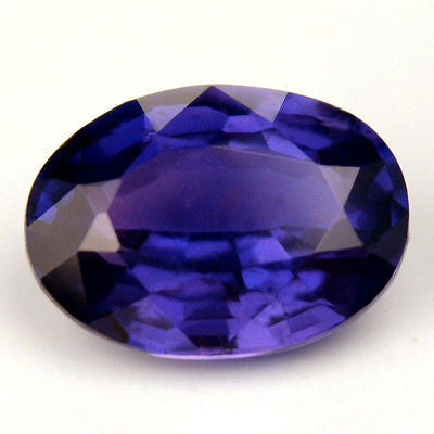 Certified Natural Ceylon Sapphire Purple Color1.04ct Oval Shape Vs Clarity Sri Lanka Gem - sapphirebazaar - 1