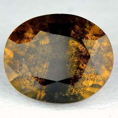 Certified 1.56ct natural Ceylon unheated yellowish brown Sapphire - sapphirebazaar - 1