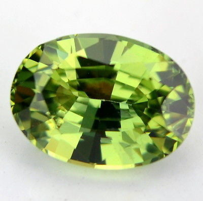 Certified Natural Unheated 1.06ct Green Oval Sapphire Untreated Flawless IF Clarity Madagascar Gem - sapphirebazaar - 1