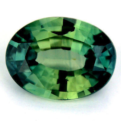Certified Natural 1.05ct Teal Sapphire Oval Shape Vs Clarity Madagascar Gemstone - sapphirebazaar - 1