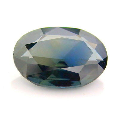 Certified natural 0.64ct unheated untreated green rose cut Sapphire vs clarity Madagascar - sapphirebazaar - 1