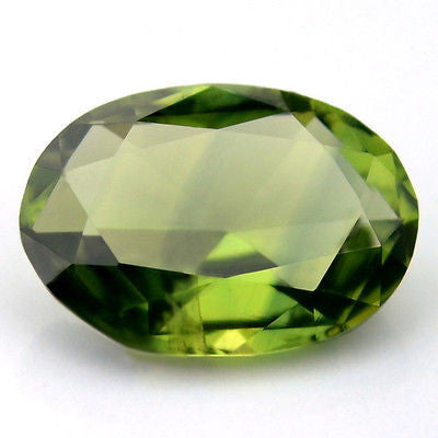 Certified Natural Green Sapphire Rose Cut 1.14ct  vvs Clarity Oval Shape Madagascar Gem - sapphirebazaar - 1