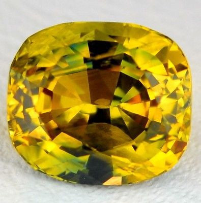 1.41ct Certified Natural Yellow Sapphire - sapphirebazaar - 1