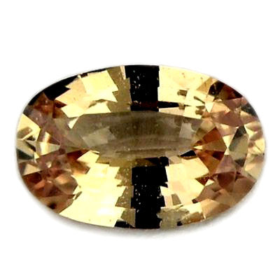 0.46ct Certified Natural Brown Sapphire