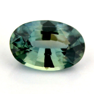 Certified Natural Unheated Greenish Blue Sapphire 0.53ct Oval Untreated Vvs Clarity Madagascar Gem - sapphirebazaar - 1
