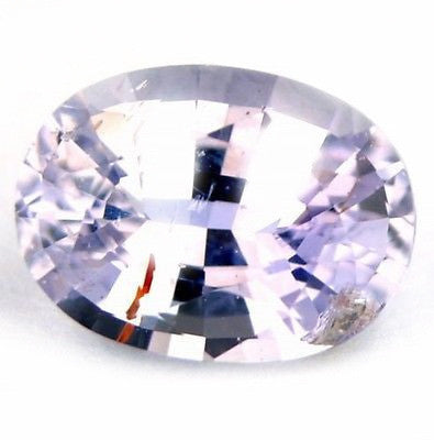 Certified 1ct natural unheated untreated oval shape Ceylon white Sapphire - sapphirebazaar - 1
