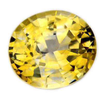 1.31ct Certified Natural Yellow Sapphire - sapphirebazaar - 1