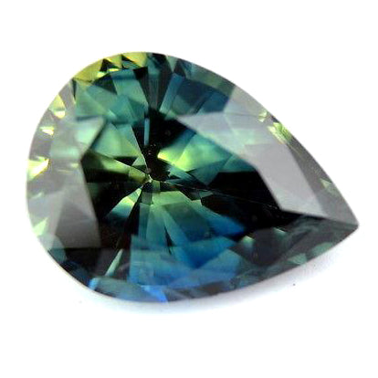 1.20 ct Certified Natural Multicolor Sapphire