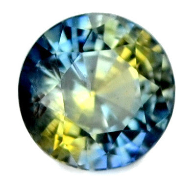 0.40 ct Certified Natural Multicolor Sapphire