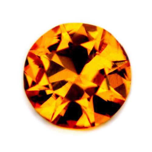 0.31ct Certified Natural Yellow Sapphire