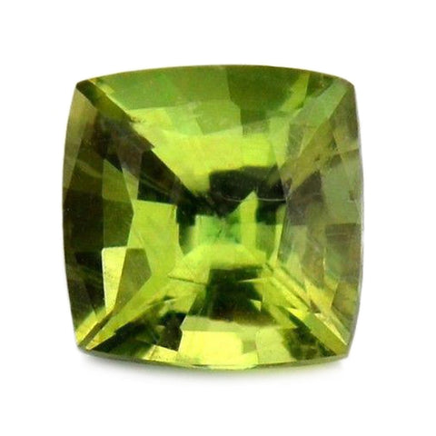 0.51ct Certified Natural Green Sapphire