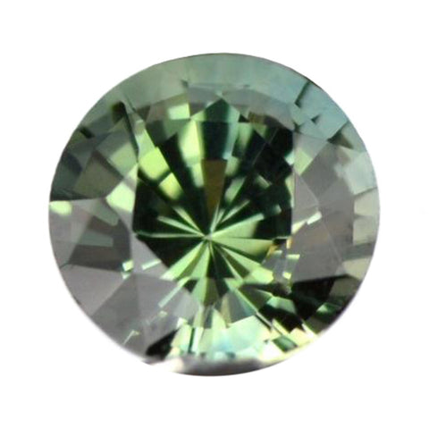 0.55ct Certified Natural Green Sapphire