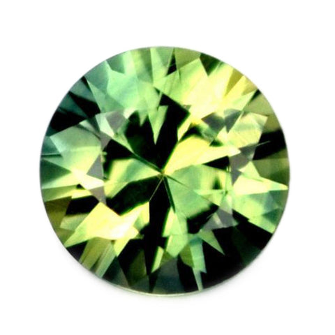0.41ct Certified Natural Green Sapphire