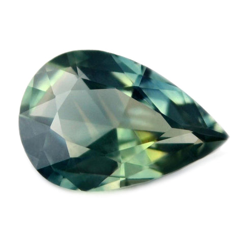 0.60 ct Certified Natural Teal Sapphire