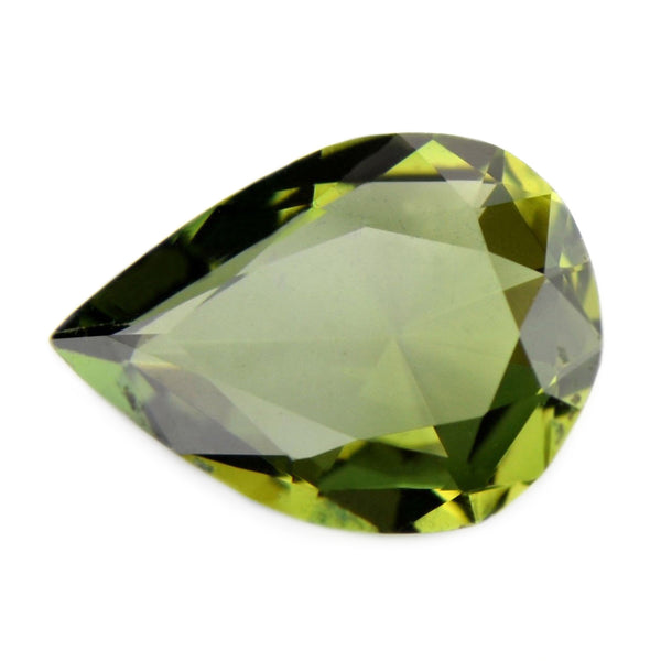 0.62ct Certified Natural Green Sapphire