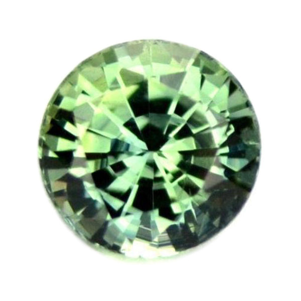 0.53 ct Certified Natural Green Sapphire