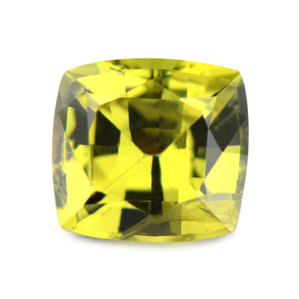 0.70 ct Certified Natural Yellow Sapphire