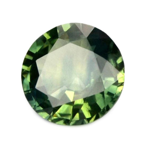 0.81ct Certified Natural Green Sapphire