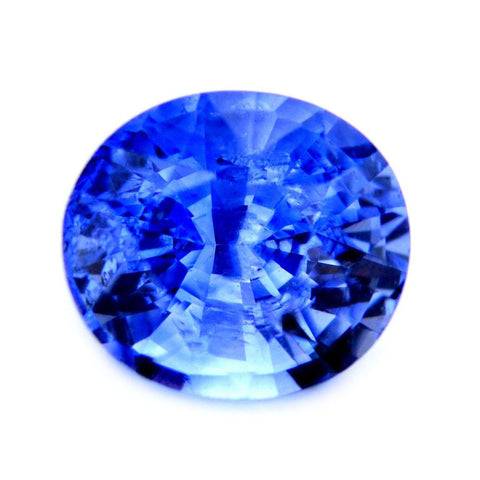 0.78 ct Certified Natural Blue Sapphire