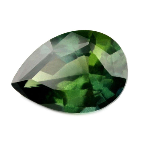 1.04 ct Certified Natural Green Sapphire