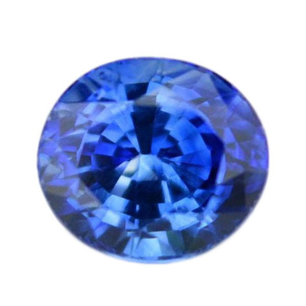 0.43 ct Certified Natural Blue Sapphire
