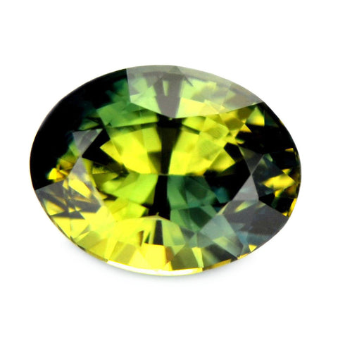 0.80ct Certified Natural Green Sapphire