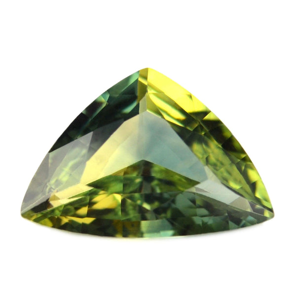 0.80 ct Certified Natural Green Sapphire