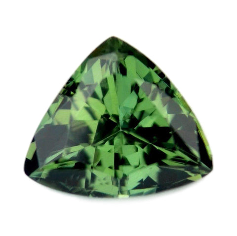 1.05ct Certified Natural Green Sapphire