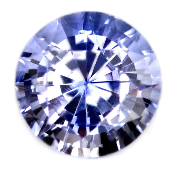 Certified Natural 3.9mm Ceylon LIght Blue Sapphire - sapphirebazaar - 1