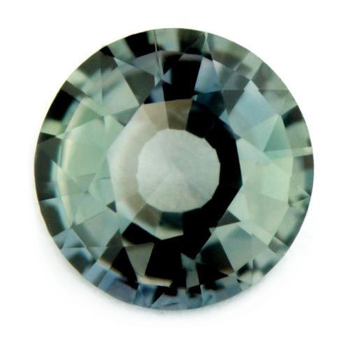 5.68 mm Certified Natural Light Green Sapphire