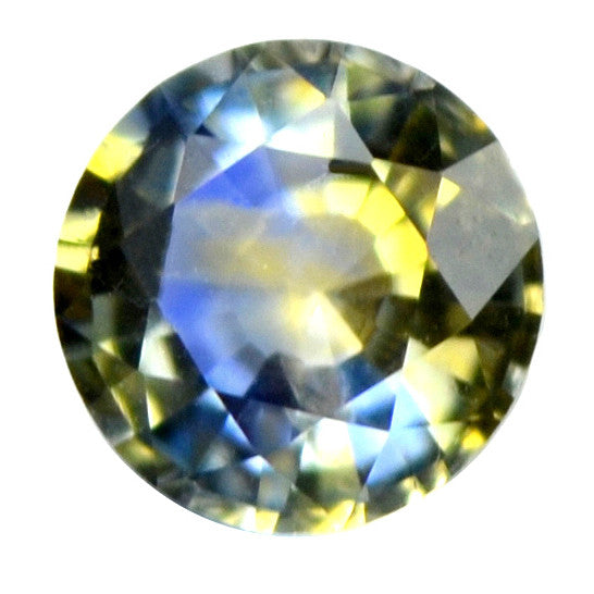0.30 ct Certified Natural Multicolor Sapphire