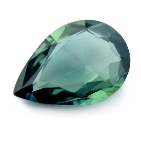 1.05ct Certified Natural Teal Sapphire