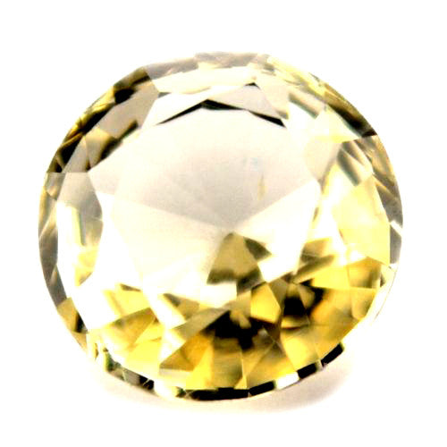 4.55 mm Certified Natural Beige Sapphire