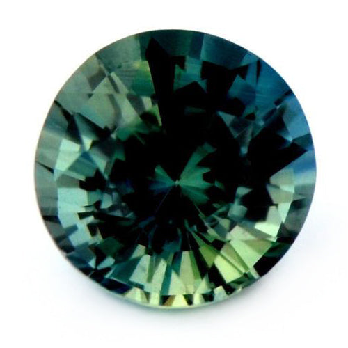 4.68 mm Certified Natural Teal Sapphire
