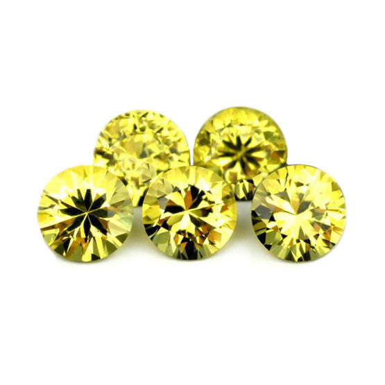1.93ct Certified Natural Yellow Sapphires Set