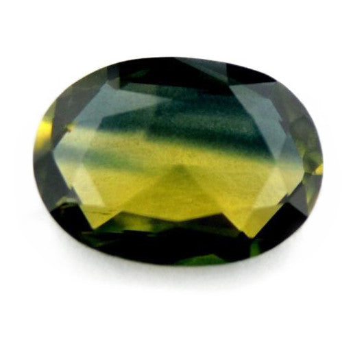 0.69 ct Certified Natural Bicolor Sapphire