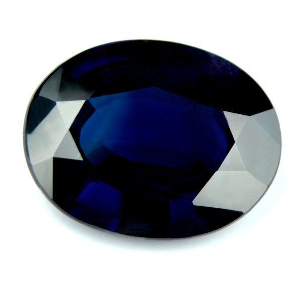 2.62ct Certified Natural Unheated Blue Sapphire - sapphirebazaar - 1