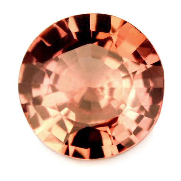 Certified 1.16 ct Natural Peach Sapphire