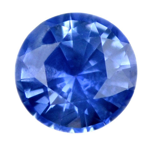 0.45 ct Certified Natural Blue Sapphire