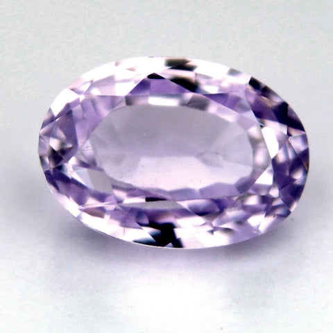 Certified Natural Ceylon Sapphire Pinkish Purple Oval Shape 0.63ct Vs Clarity Sri Lanka Gemstone - sapphirebazaar - 1